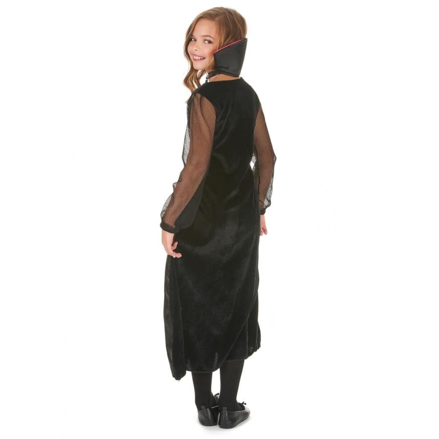 998112f2081 Robe de vampire noire avec arabesques pour enfant