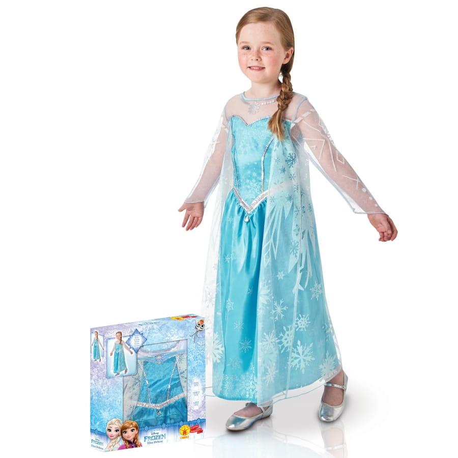 Robe Des Neiges 1jktflc Coffret En Elsa Enfant Pour Reine AjqR4c35L