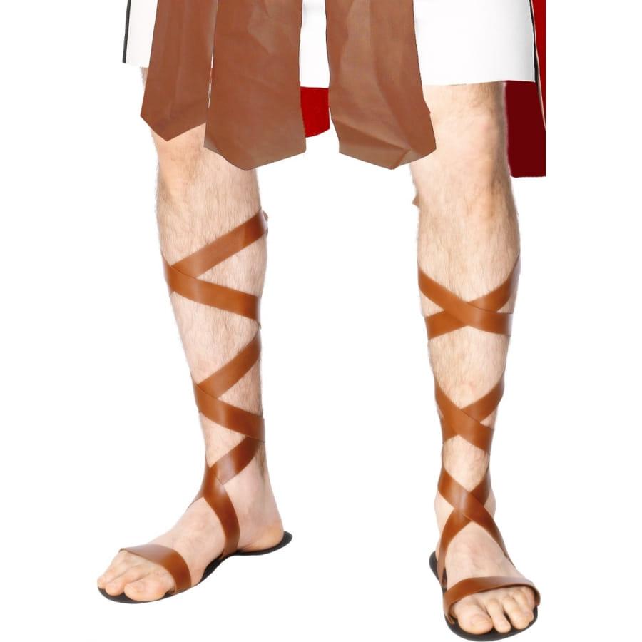 Sandales avec lani res en simili cuir - Qu est ce que le simili cuir ...