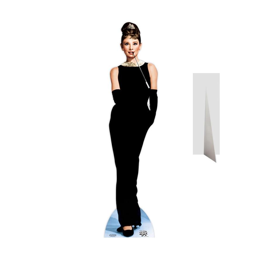 070cd0d0e60 Silhouette de Audrey Hepburn en robe de soirée