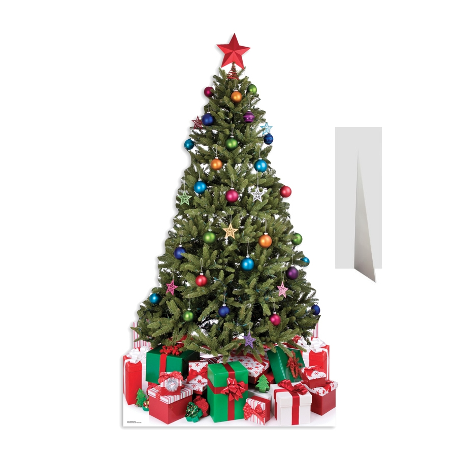 Sapin de no l en carton plat d cor for Sapin de noel decore
