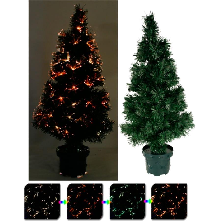 Sapin de no l fibre optique multicolore de 80 cm - Deguisement sapin de noel ...