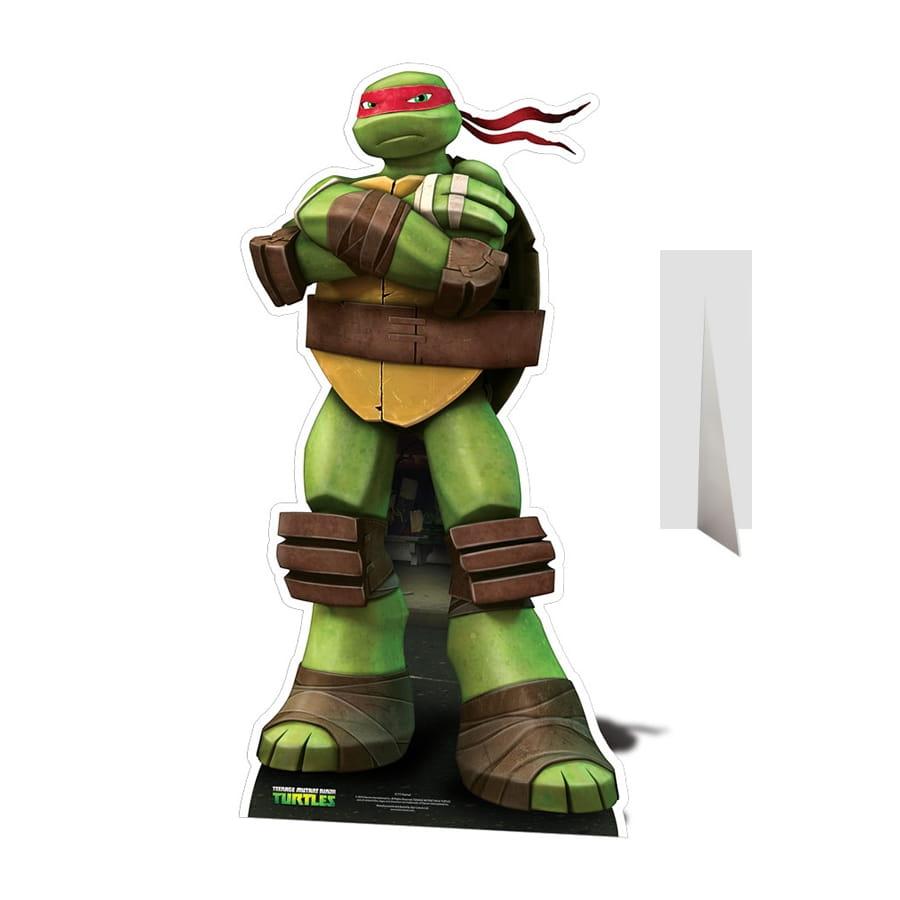 Silhouette de raphael taille r elle tortue ninja for Repere des tortue ninja