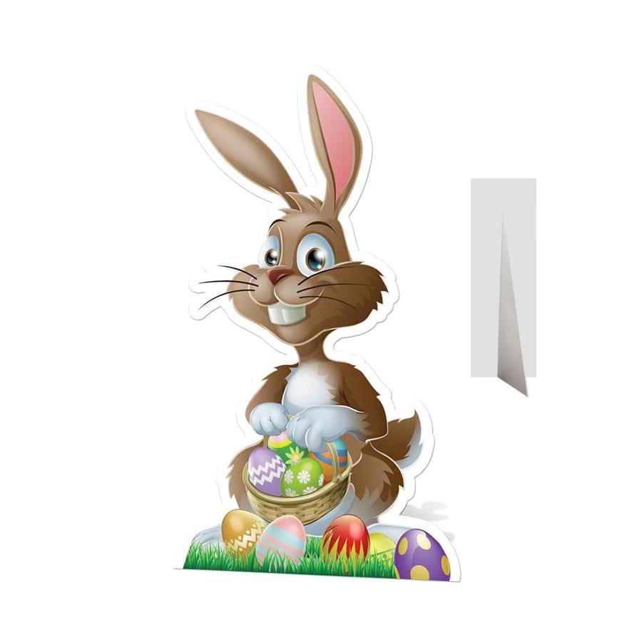 Silhouette lapin de p ques en carton plat - Image lapin de paques ...