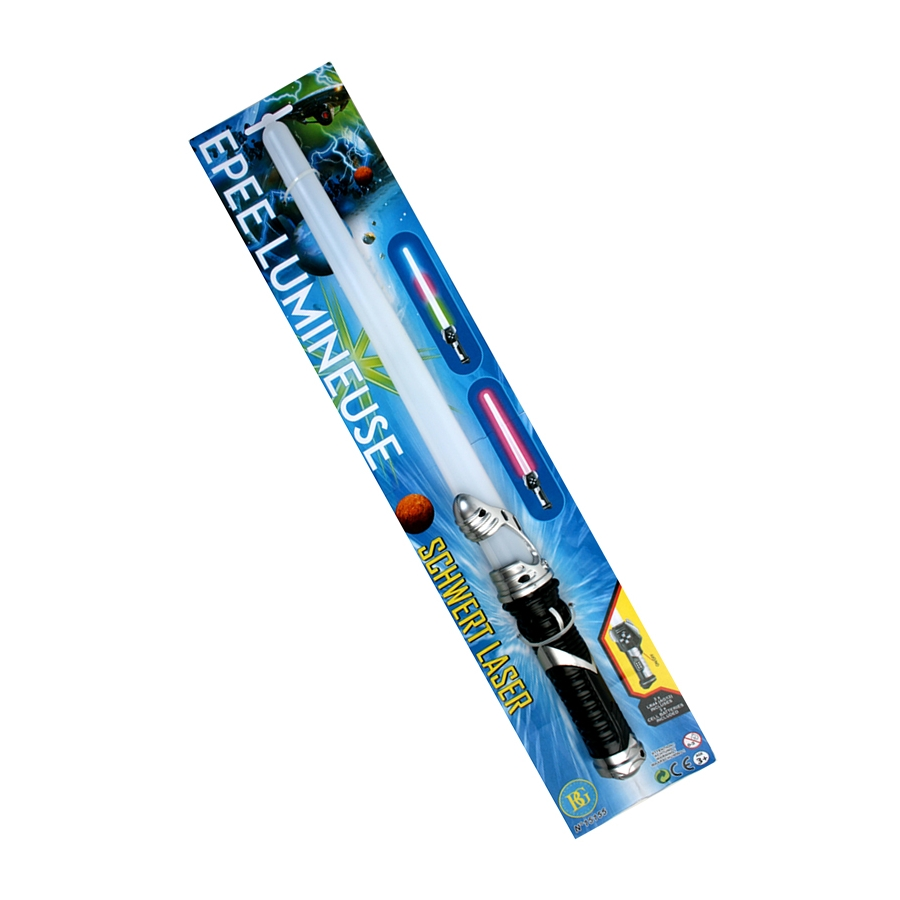 Sabre laser lumineux de 47cm for Laser lumineux pour noel