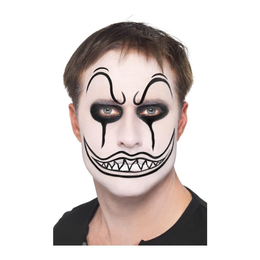 maquillage de clown terrifiant. Black Bedroom Furniture Sets. Home Design Ideas
