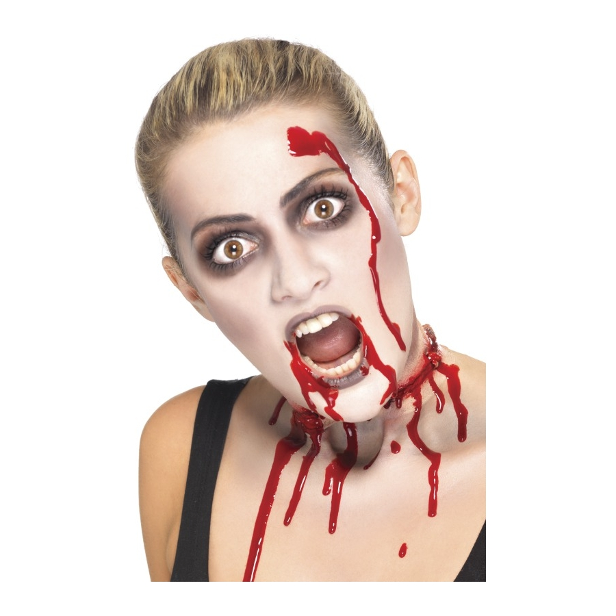 Set maquillage zombie - Maquillage halloween latex ...