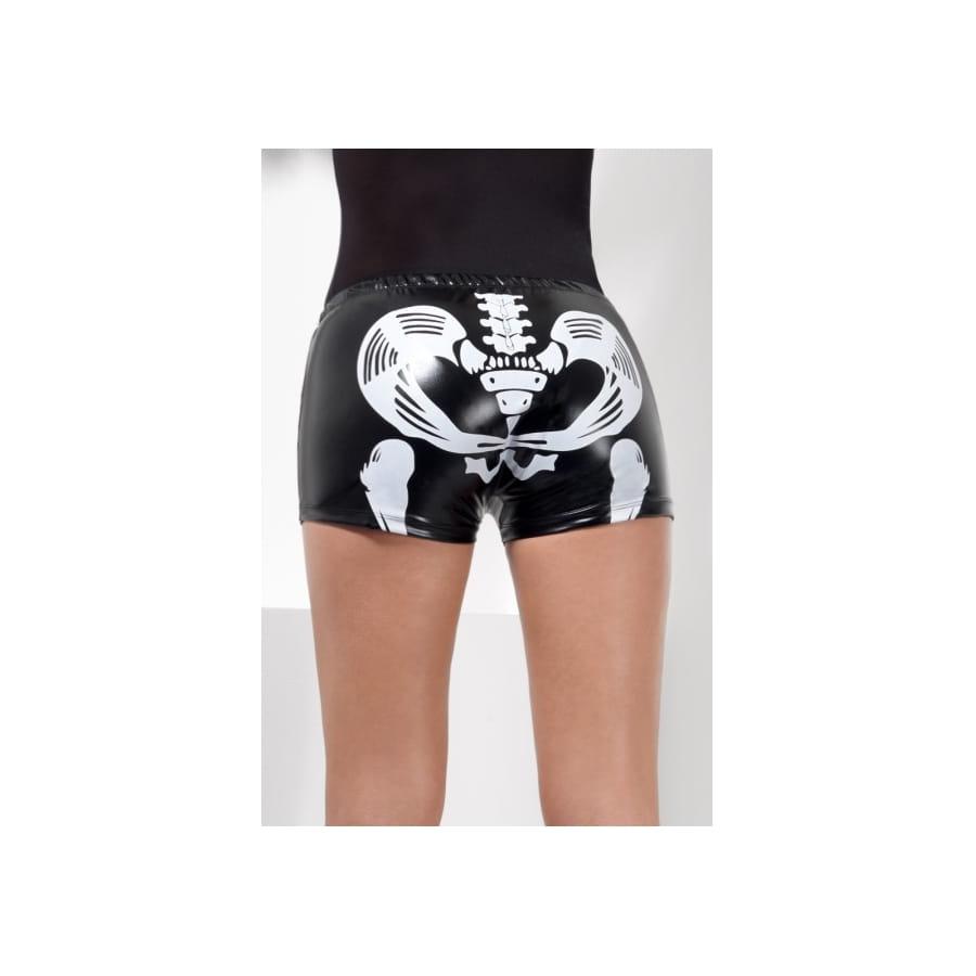 Shorty noir squelette effet mouillé 64fb70122b5
