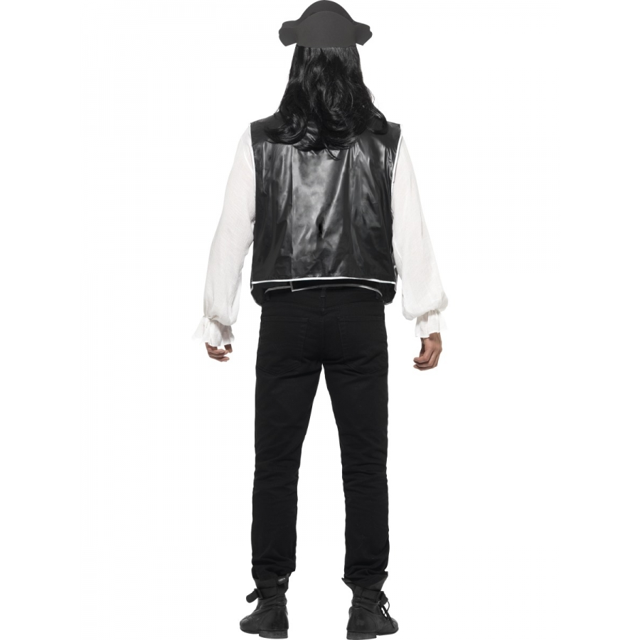 Set pirate noir et blanc for Pantalon carreaux noir et blanc