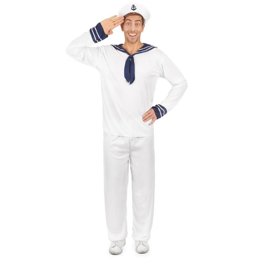 Tenue blanche de marin pour homme fc1dcc8e54b1