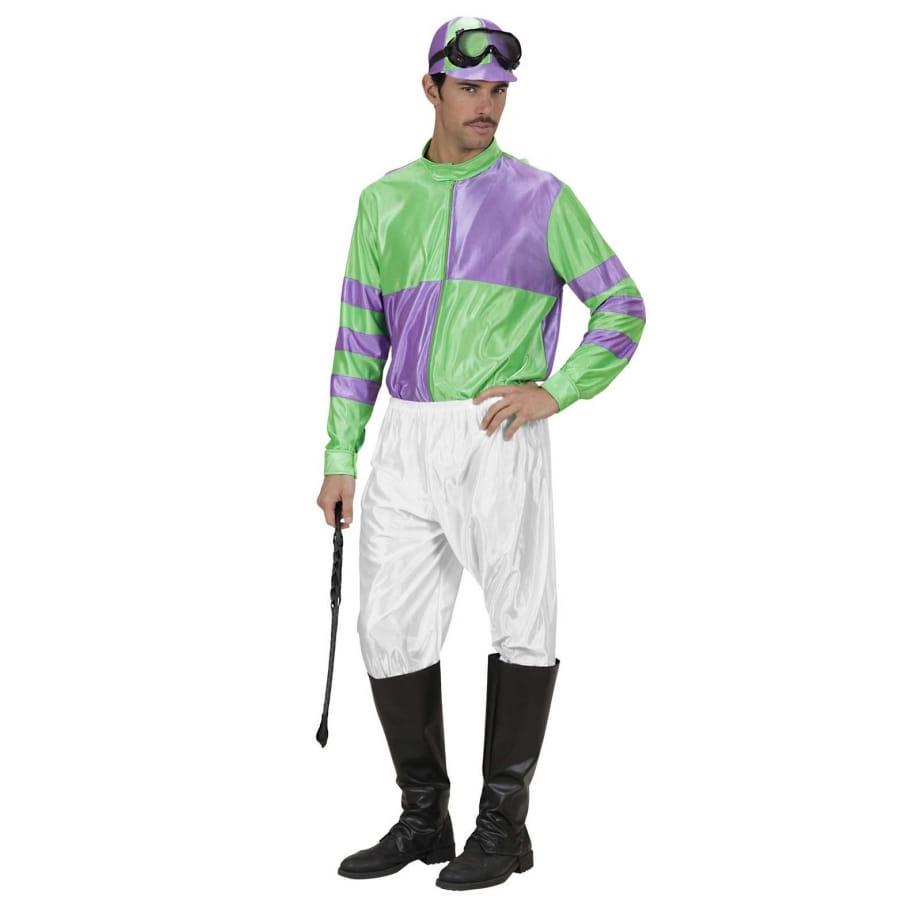 Vert Violet Et De Jockey Tenue PukXZTOi
