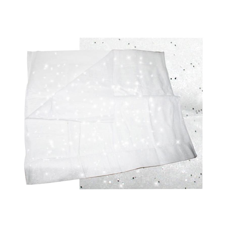 Tapis de neige argenté de 240x91cm