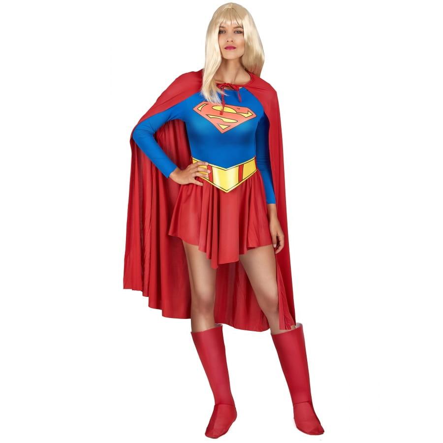 tenue de supergirl pour femme adulte. Black Bedroom Furniture Sets. Home Design Ideas