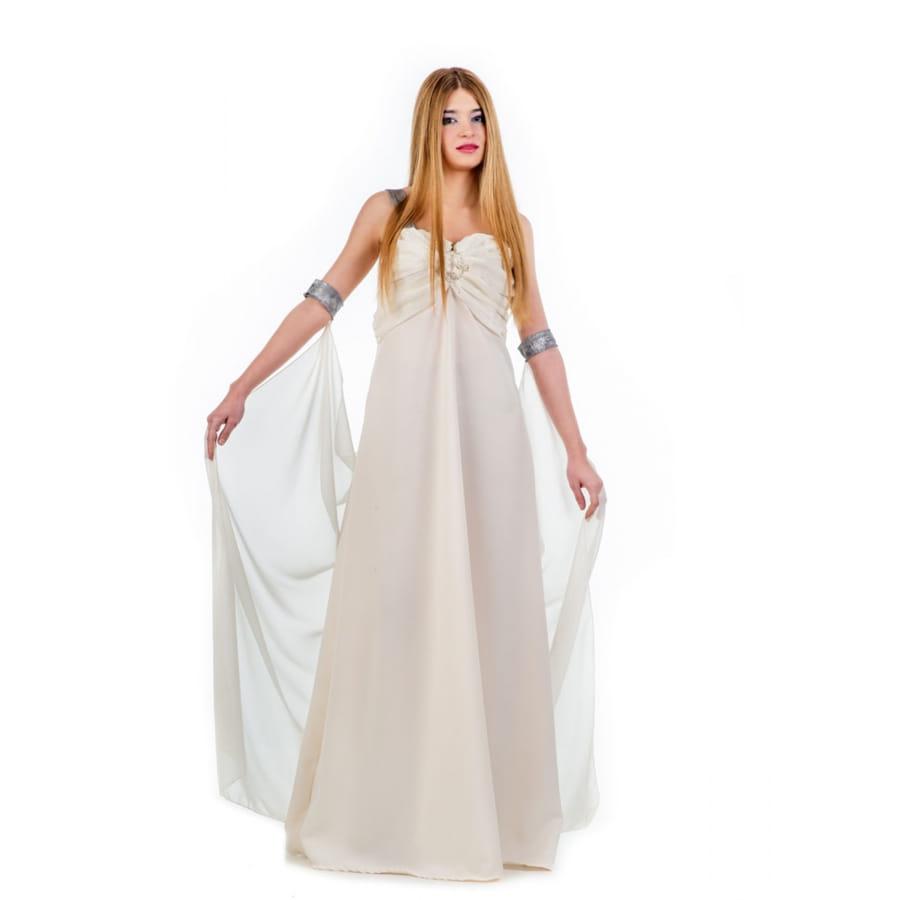 Tenue Robe Et Voile Longue Blanche Femme Empire zqVpUSM