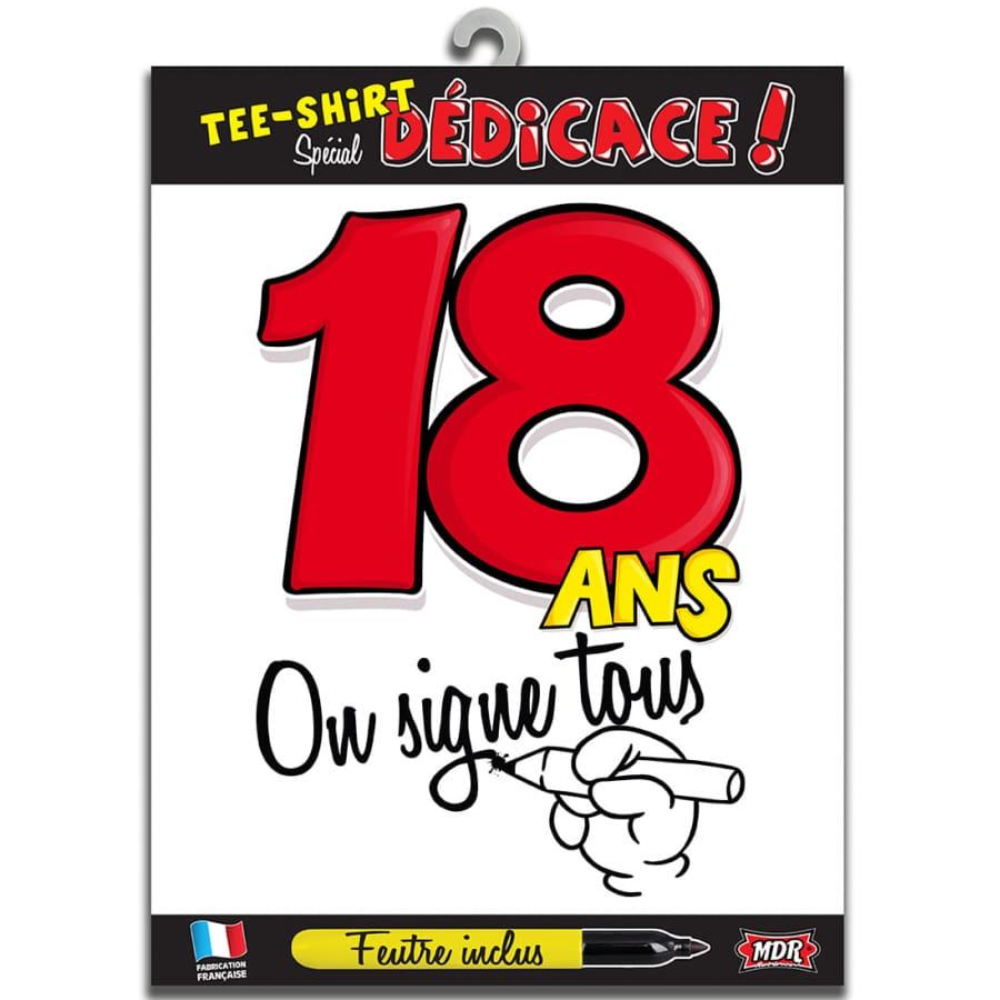 T shirt d 39 anniversaire d dicasser - Cadeau d anniversaire 18 ans ...