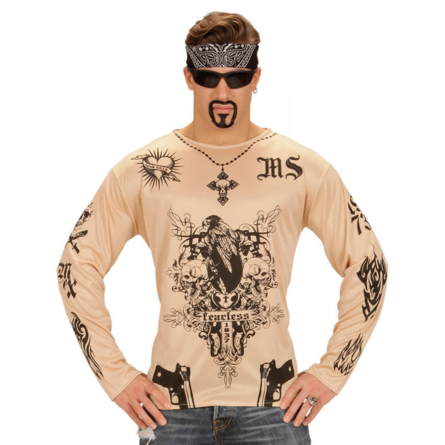 T Shirt Tatouages Fearless Chair Pour Homme