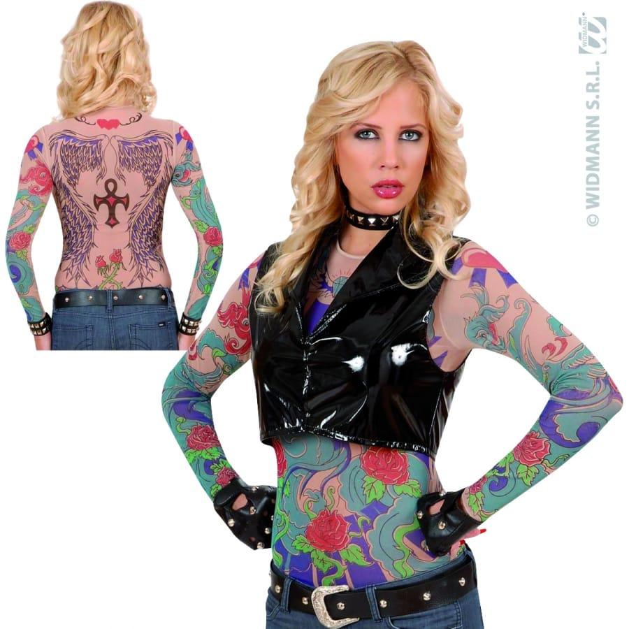 Tee shirt tatouage femme ailes d 39 ange - Tatouage ailes d ange ...