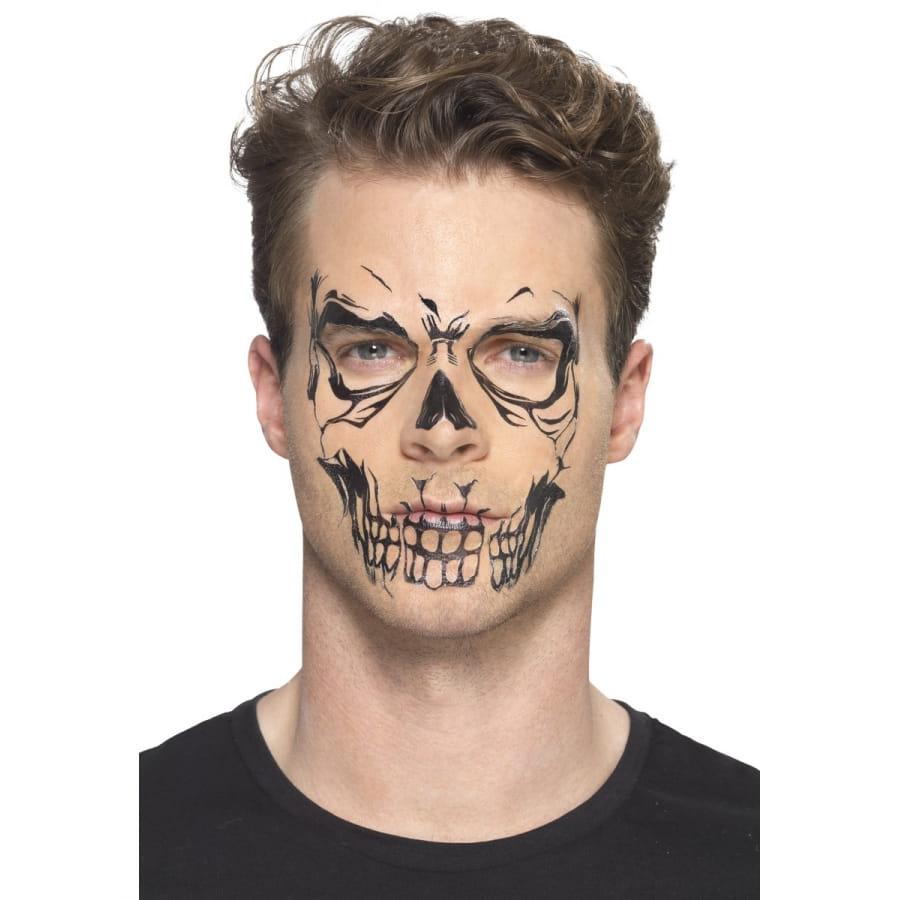 tatouage visage de squelette ph m re. Black Bedroom Furniture Sets. Home Design Ideas