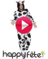 vidéo Costume combinaison de vache