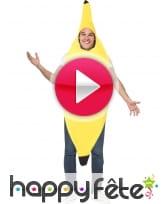 vidéo Costume de banane