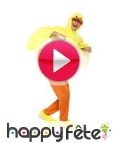 vidéo Costume de canard jaune