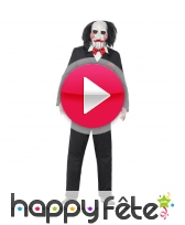vidéo Costume de Jigsaw, Saw