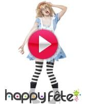 vidéo Déguisement Alice mort vivante