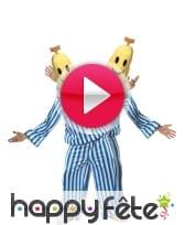vidéo Déguisement bananes pyjama