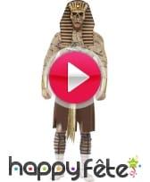 vidéo Déguisement de zombie pharaon