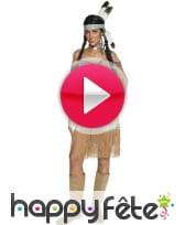 vidéo Déguisement indienne femme sexy
