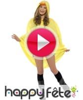 vidéo Poncho canard imperméable