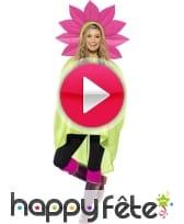 vidéo Poncho fleur imperméable